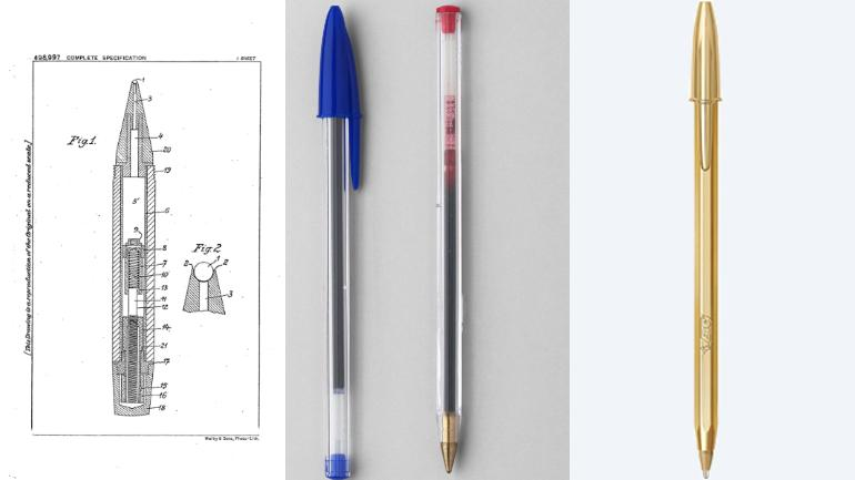 Do you know how a ballpoint pen works and how it was