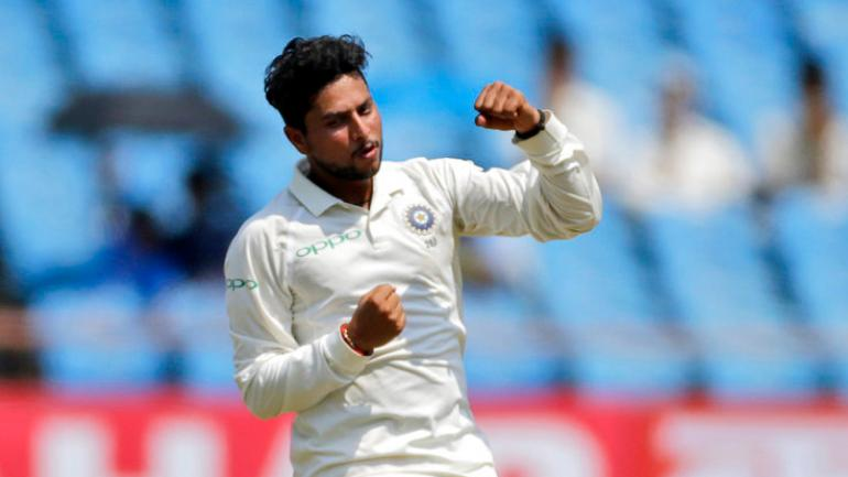 Kuldeep Yadav spins a web around West Indies to grab maiden 5-wicket haul  in Tests - Sports News