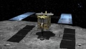 MASCOT, a box shaped observation robot launched by JAXA towards Ryugu's surface
