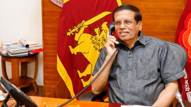 India's R&AW trying to kill me says Sri Lankan President Sirisena