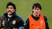 Messi is not to blame for Argentina not being world champions: Maradona