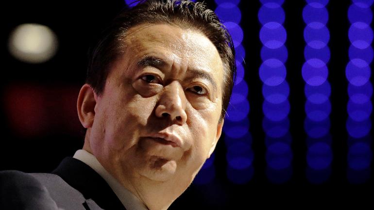 Former Interpol chief Meng Hongwei being probed for accepting bribes, says China