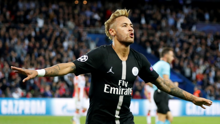Champions League  Neymar scores hat-trick as PSG thrash Red Star 6-1 ... 1a0f5877454e4