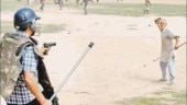 Old man facing cop with pistol not from Delhi farmers' protest