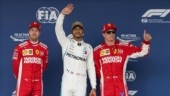 US Grand Prix: Lewis Hamilton grabs pole, Sebastian Vettel to start from fifth