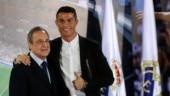 Cristiano Ronaldo and Florentino Perez, Real Madrid
