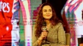 Preity Zinta at the India Today Conclave East 2018
