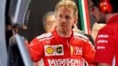 Sebastian Vettel was hit with a three-spot starting grid penalty