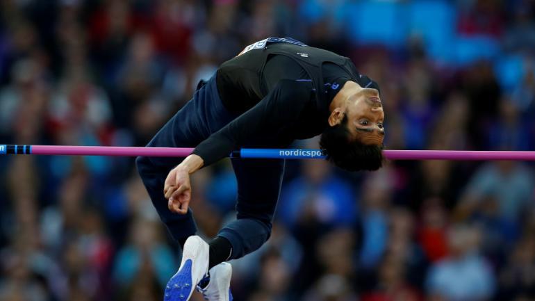 Sharad Kumar smashed the Asian and Games record to win the men's high jump T42/63 gold at Asian Para Games. (Reuters Photo)