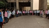 Sri Lankan students in South Asia University hold silent protest against removal of PM