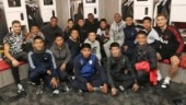 Jose Mourinho and Manchester United welcome Thailand cave boys to Old Trafford