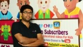 This man created a kids' learning channel on YouTube for his daughter, and now it is India's number one