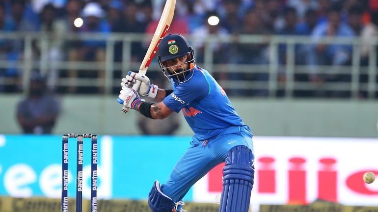Virat Kohli smashed Sachin Tendulkar's record to become the fastest to reach 10,000 runs in ODI cricket.