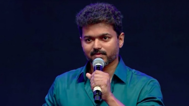 Vijay at Sarkar audio launch