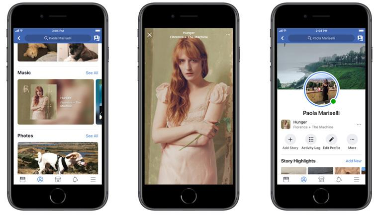 Image result for Now, add songs to photos and videos on Facebook Stories