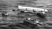 Pan Am World Airways flight that ditched the Pacific Ocean and survived