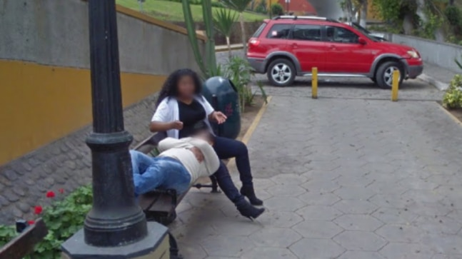 Google Street View: Peru man catches wife cheating, gets
