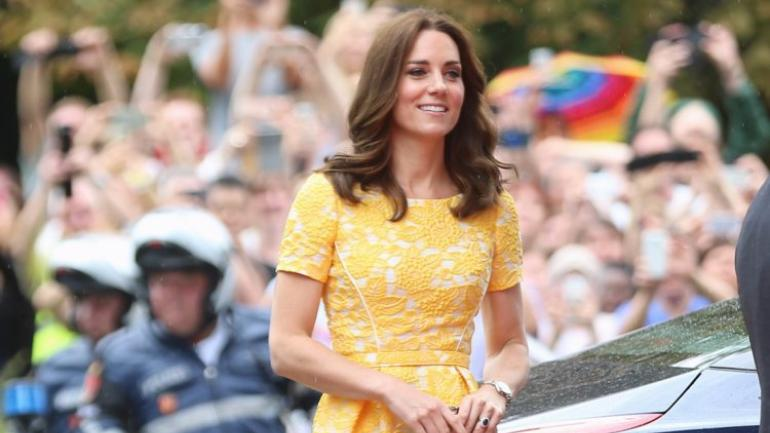 Duchess Kate Middleton makes Official Return from Maternity Leave at Wildlife Garden