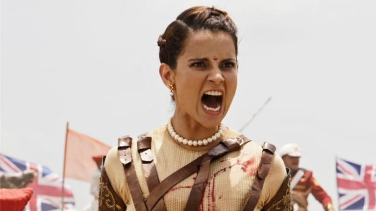 Kangana Ranaut in a still from the teaser of Manikarnika: The Queen Of Jhansi.