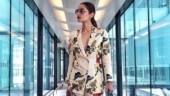 Manushi Chhillar looks stunning in chic co-ord pantsuit
