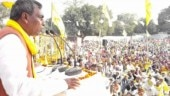 SBSP chief Om Prakash Rajbhar urged people to gather in large numbers at his rally today. (Photo: Youtube)