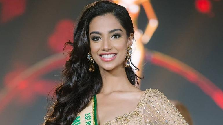 India's Meenakshi Chaudhary is first runner-up at Miss Grand