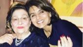 Neetu Kapoor pens emotional tribute for mother-in-law Krishna Raj Kapoor