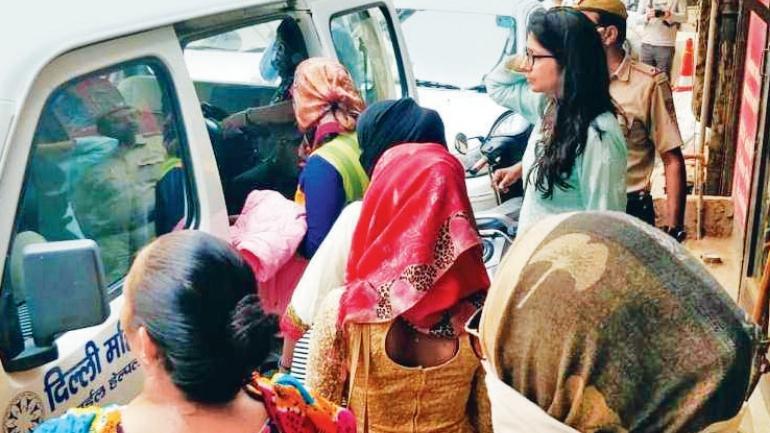 nepal girls rescued