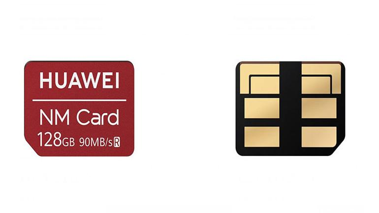 Huawei's NM cards try to shrink down the micro-SD for some