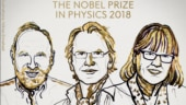 Three scientists share Nobel Prize for Physics 2018 for laser physics work, including the third woman ever to win it