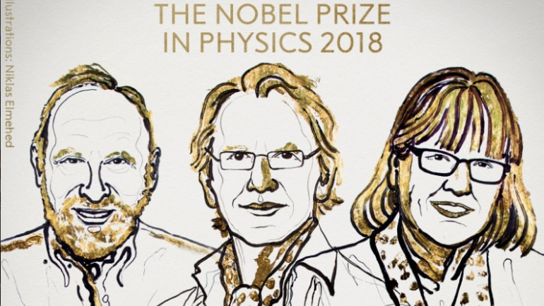 3 scientists awarded chemistry Nobel Prize - 10/3/2018 5:22:34 AM
