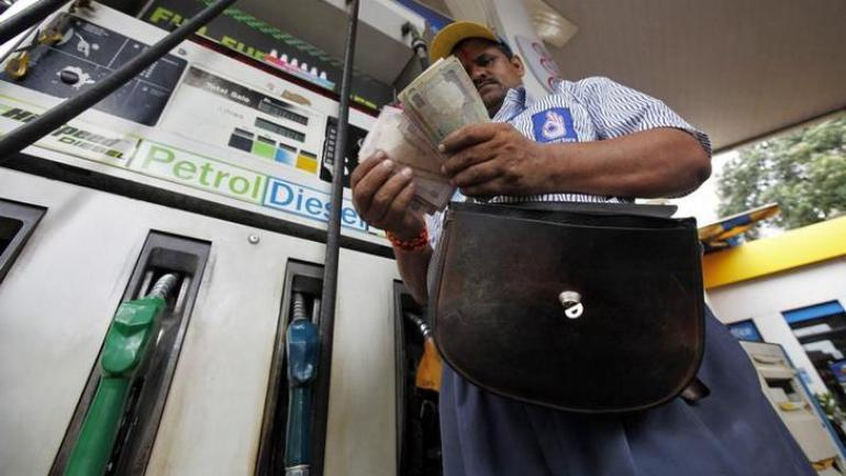 Petrol and diesel prices in Delhi down to Rs 81.99 per litre