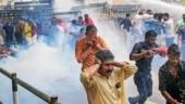 BJP workers protest Supreme Court verdict in Sabarimala row