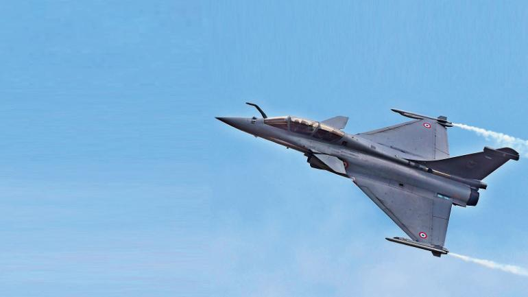 Rafale fighter plane