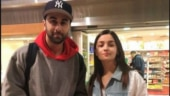 Alia Bhatt is in New York, to pay Ranbir Kapoor's father Rishi, a visit.