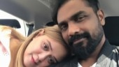 Remo D'Souza's wife Lizelle has the sweetest Karwa Chauth surprise for him. See pic