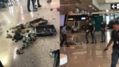 Police blew up a suspicious suitcase at Rome airport. See what it contained