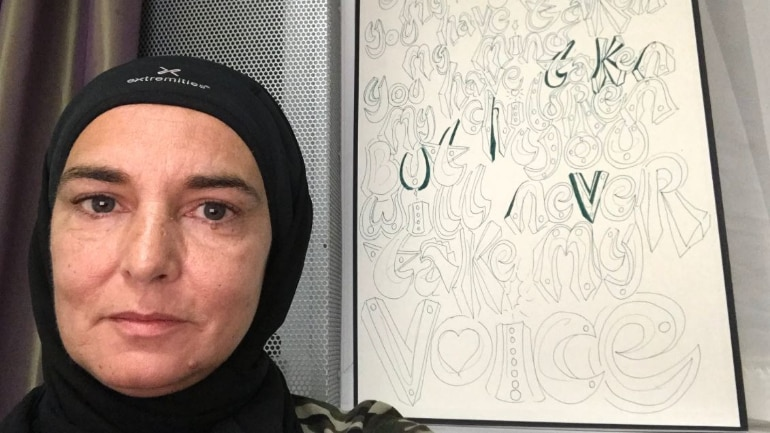 Sinead O'Connor reveals she has converted to Islam