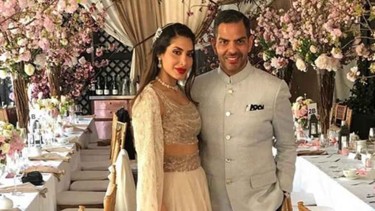 Karisma Kapoor's ex-husband Sunjay Kapur and Priya Sachdev