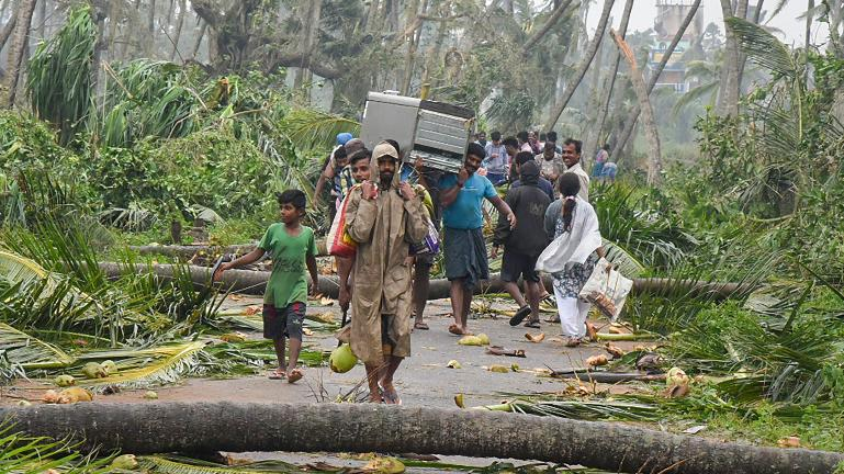 Cyclone Titli kills people in Andra Pradesh, Odisha stares at possible flooding