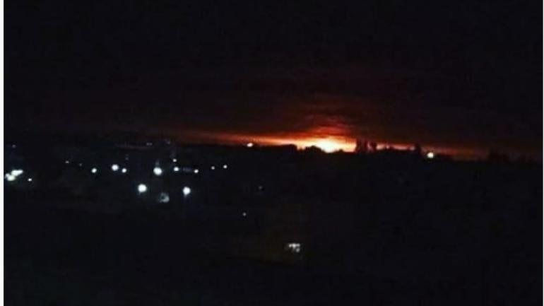 10,000 people evacuated after explosions in Ukraine's ammo depot