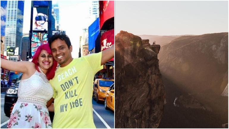 Indian travel bloggers death: Couple fell from here  360