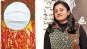 The exhibition displays over 16 prints and photographs that artist Aishwarya Sultana (right) created after her stay in Paris.