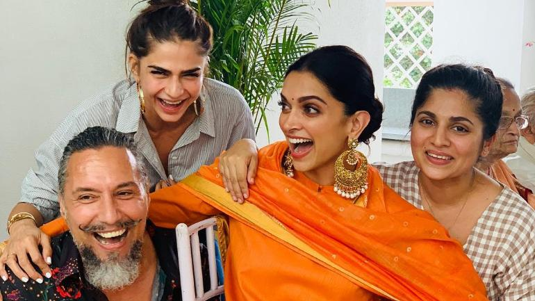 Inside Pics Deepika Padukone Starts Wedding Celebrations With
