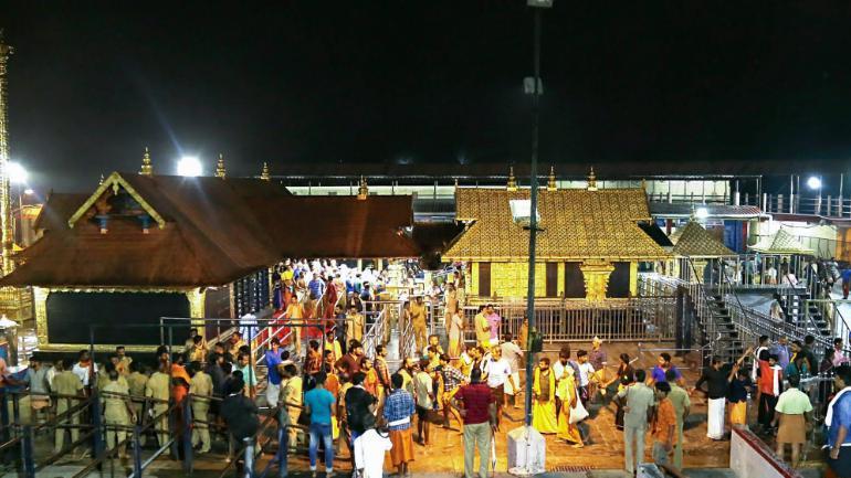 Kerala's Sabarimala temple is dedicated to Ayyappa, a Hindu deity considered eternally celibate. (Photo-PTI)