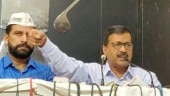 Arvind Kejriwal in Chandigarh
