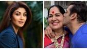 Shilpa Shetty shared a photo of Salman Khan and her mother, Sunanda.