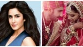 Deepika and Ranveer wedding pics: Katrina leads Bollywood wishes