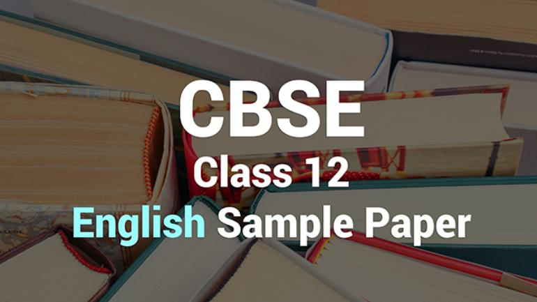 CBSE Board Exams 2019: Check class 12 English sample paper