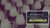 Class 12 Chemistry tips for board exam and JEE: How to study alcohols
